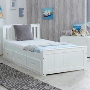 tempat tidur anak minimalis 3 laci terbaru
