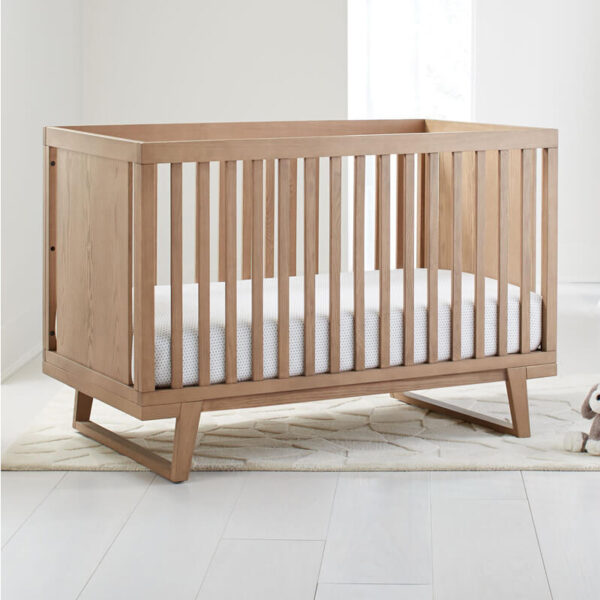 tempat tidur bayi minimalis kayu jati jepara
