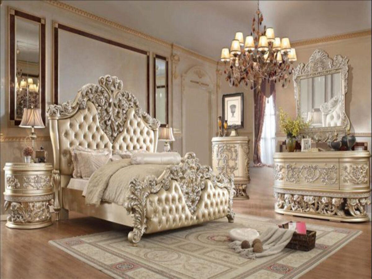 tempat tidur mewah klasik modern