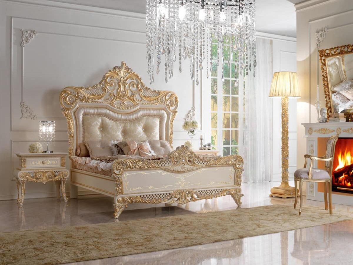 tempat tidur mewah ukir 2021