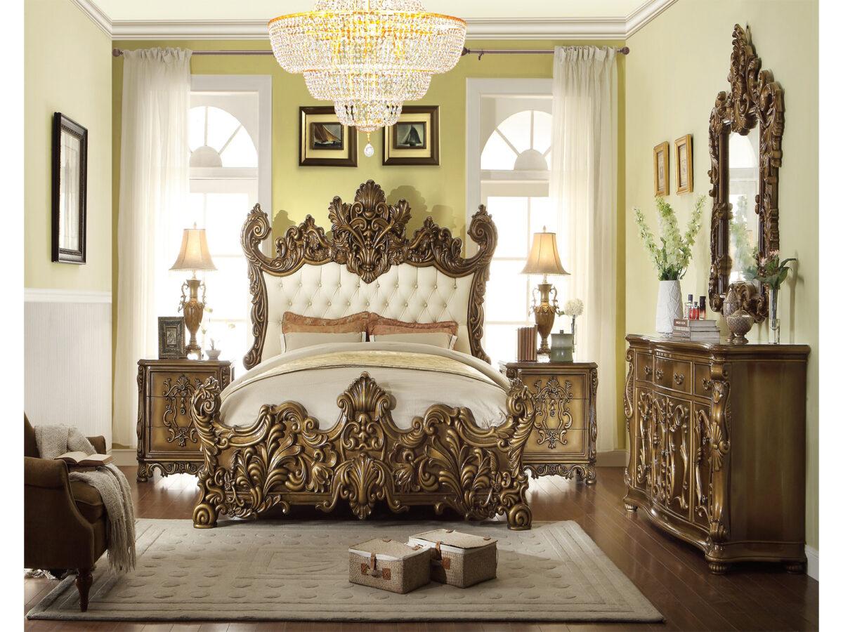 tempat tidur mewah ukiran jepara