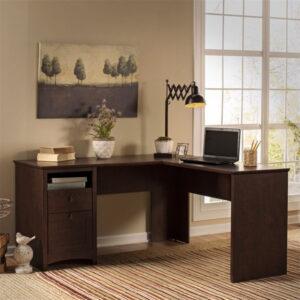 meja kerja sudut minimalis terbaru