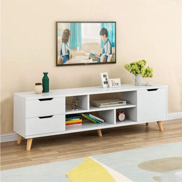 Meja tv minimalis modern mewah