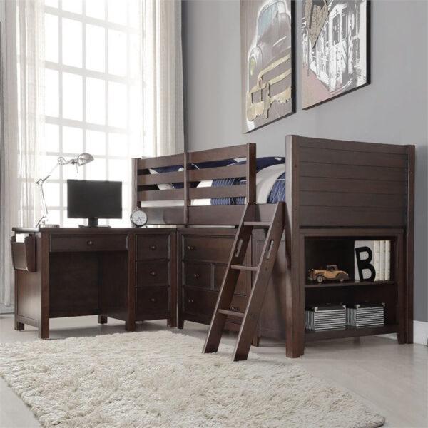 Tempat tidur anak minimalis bertingkat terbaru
