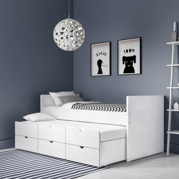 Ranjang tidur anak minimalis sorong terbaru
