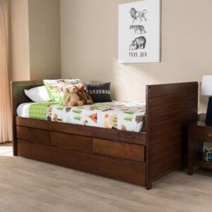 tempat tidur anak minimalis kayu jati