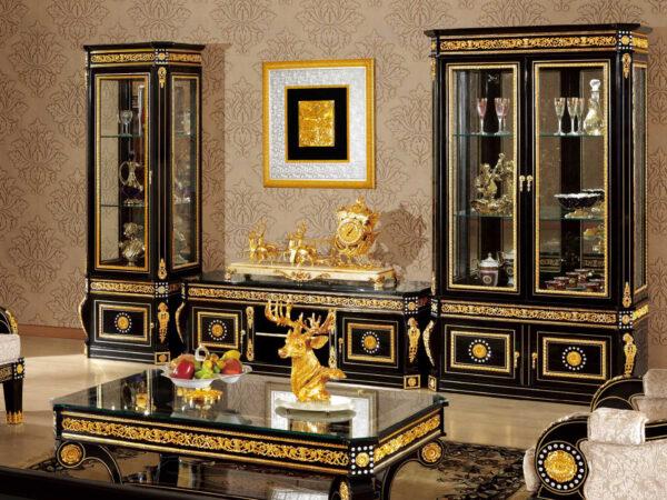 Bufet tv minimalis mewah luxury terbaru