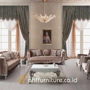 Set Sofa Ruang Tamu Mewah Minimalis