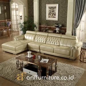 Sofa Ruang Tamu Minimalis Leter L